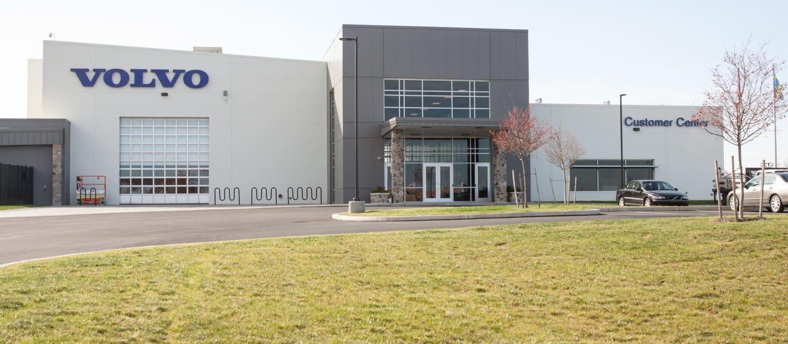 Volvo Road Machinery Production Facility - Kinsley Construction