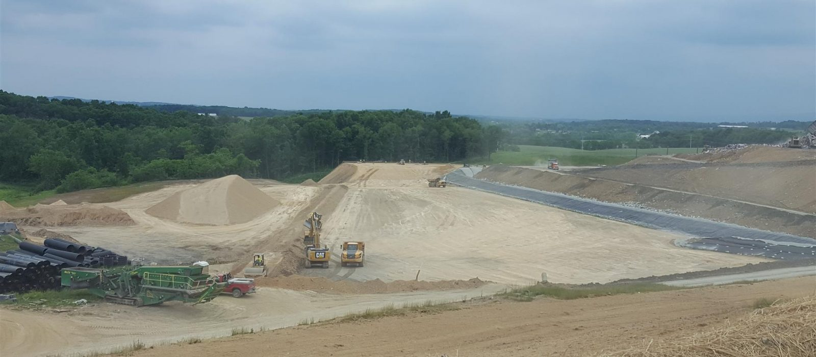 Cumberland County Landfill Site Work