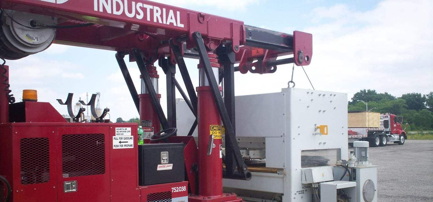 Bobst Die Cutter from Indiana to York, PA