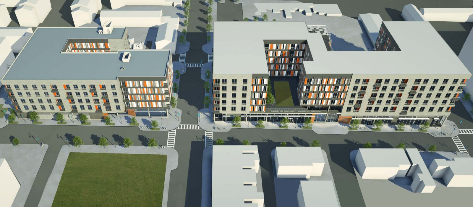 Center/West Redevelopment Project