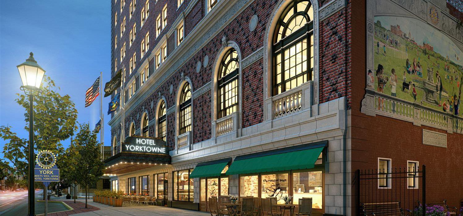 Yorktowne Hotel Rendering 1
