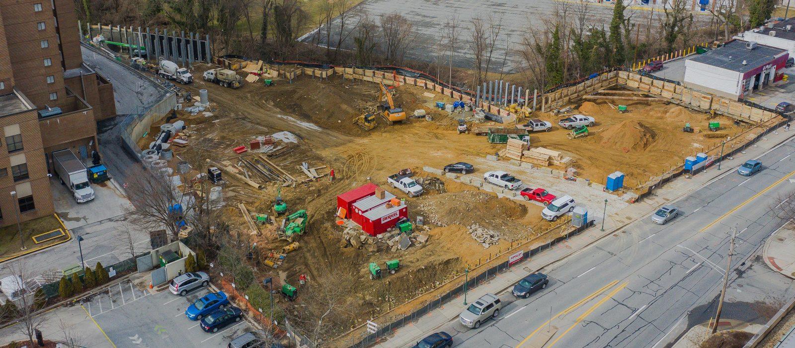 Site Work at 101 York Road 1