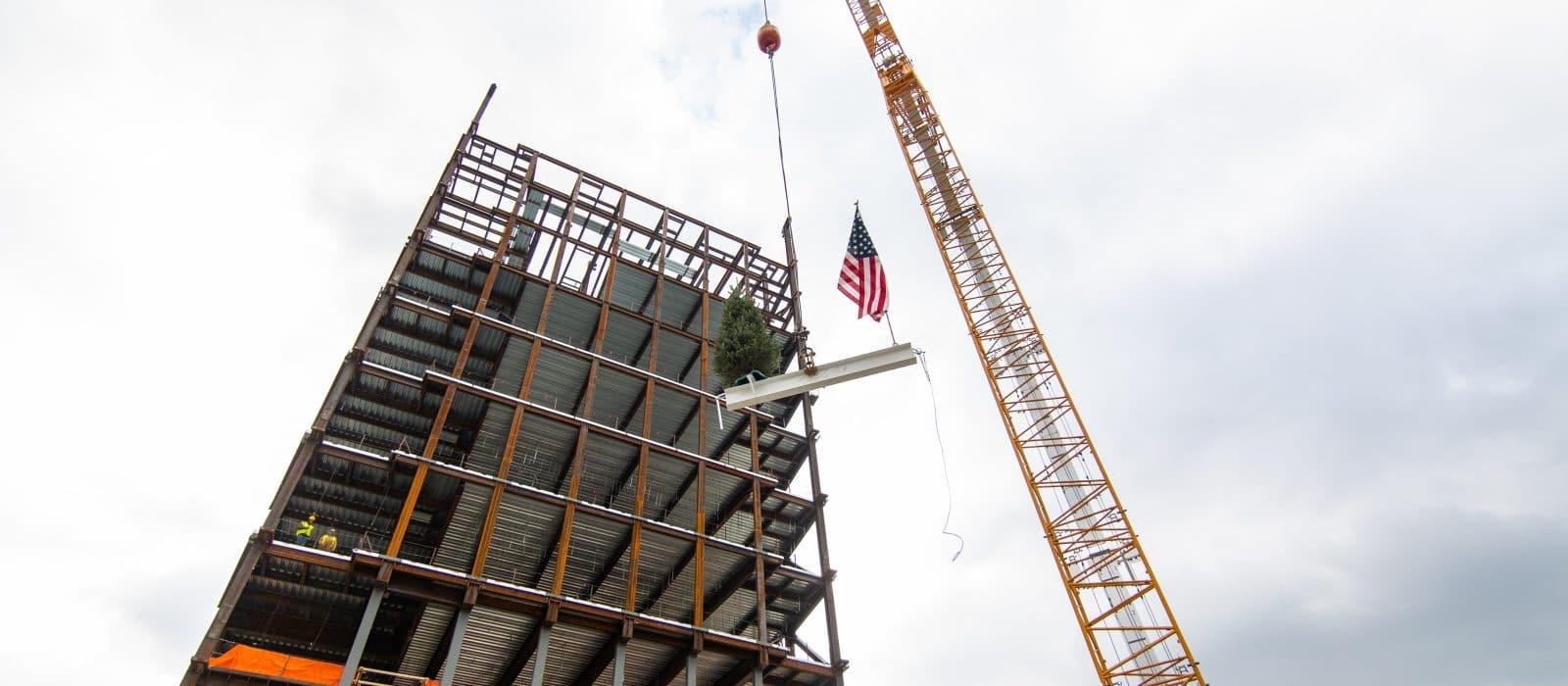 Beam Lift 2 Harrisburg Federal Courthouse